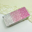 Deco frisk case cover ★ Swarovski (pink gradient patterns) frisk cases