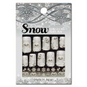 New ☆ winter limited edition ★ Japan nail snow crystals, ハートシルバー