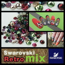Swarovski rhinestones-size for nail art-retro ◆ classical MIX (grain 100) ss5/ss7/ss9 size contains random! Self Swarovski Swarovski nail tone nail on my nail.