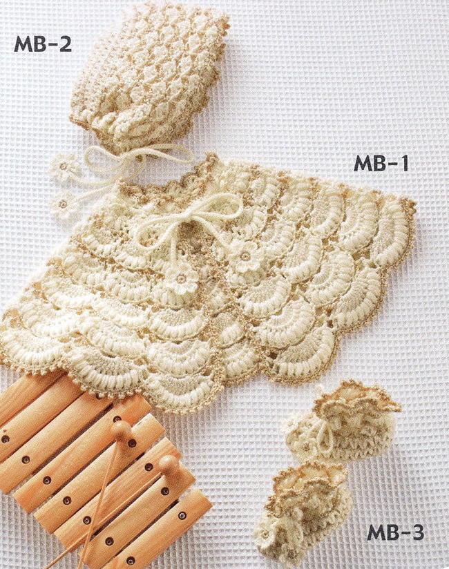 [针织] 壳针织披肩