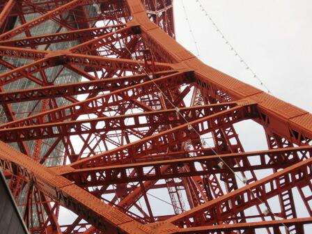 東京タワー足元