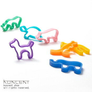 ���˥ޥ��С��Х�ɥ磻�ɡ�Animal Rubber Band WIDE��+d�����å��女�󥻥ץ�