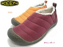 One pair of last! Cut it more the winter of 2014; 20% OFF KEEN Kean Lady's Howser (Hauser) slip-ons casual relaxation shoes shoes warmth worth quilting fleece 1009413 (the last) 1009414 (tau knee port)
