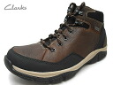 The rest is just! Clarks fully waterproof Gore-Tex men's trekking boots mid cut 243E Brown