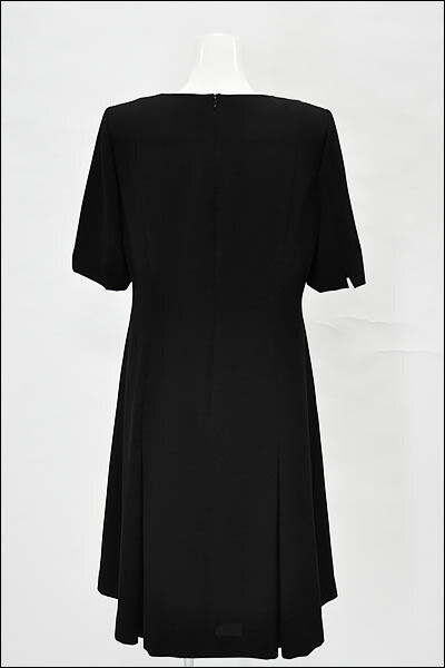 Black formal, mourning dress