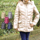 Ladies alter fox fur Hooded down coat misses fashion 40's 50's casual
