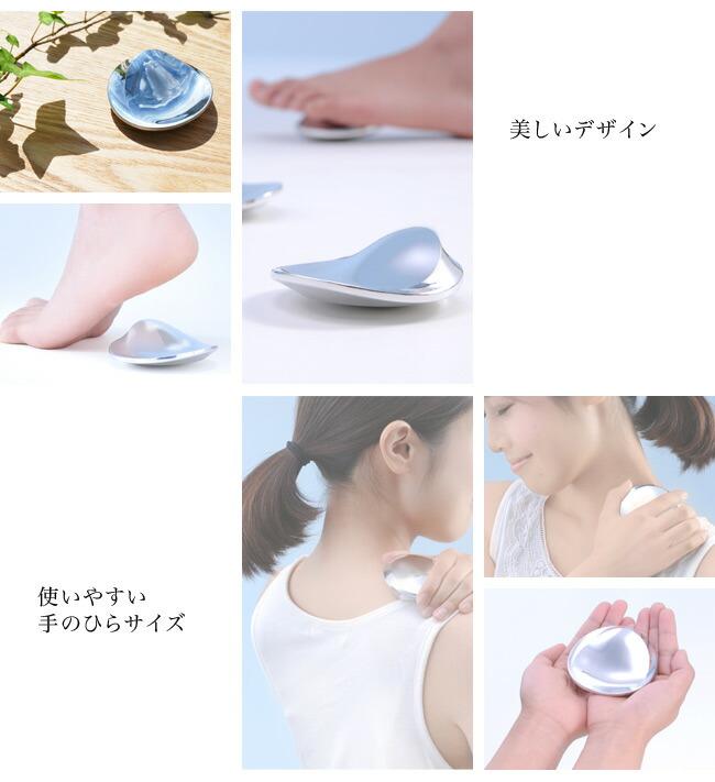 美しいデザイン/使いやすい手のひらサイズ