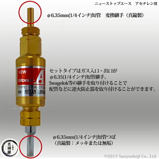 日酸TANAKA 乾式安全器(逆火防止 ...