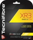 "New package Tecnifibre ( technifiber ) ""XR3 (3 x r) TFG911 tennis string 'response'"