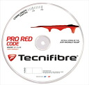 New package Tecnifibre ( technifiber ) ' PRO REDCODE ( Pro Red code ) 200 m rolls TFR501 ' tennis string 'response'