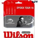 「 윌슨 페어 」 Wilson (윌슨) 「 SPIDEX TOUR 16 (스파이 덱 투어 16) 」 강 용 테니스 스트링 (스트링) 「 운영 」