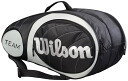 "Wilson fair ""2 or more item ' ' 2014 new products ' Wilson ( Wilson ) ' TEAM Super SIX ( bracket 6 pieces ) Racquet bag WRZ896406 ' tennis bag"