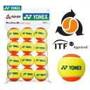 「 요 넥 스 페어 」 YONEX (요 넥 스) 「 머슬 로또 30 (STAGE2 ORANGE) TMP30 (12 개 들이) 」 키즈/주니어 테니스 공을