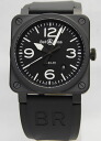 Bell & Ross br03-92 Black Matte Black ceramic