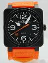 Bell & Ross br03-92 CARBON ORANGE carbon Orange O-CA Limited Edition 500