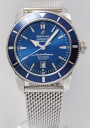 BREITLING superocean heritage 46 SS blue breath