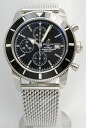 BREITLING superocean heritage chronograph SS bless black
