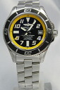 BREITLING superocean 42 yellow A187B32PRS