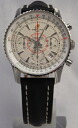 BREITLING Montbrillant 01 limited SS leather