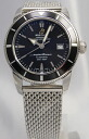 BREITLING superocean heritage 42 SS bless black