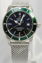BREITLING superocean heritage 42 SS breath Green