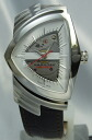 Hamilton Ventura automatic SS/ leather H24515551