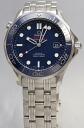Omega / Seamaster 300 m chronometer /SS blue 212.30.41.20.03.001