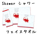 Shower face towel fs3gm
