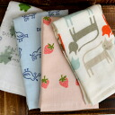 Hidamari living Japanese towel hand towel wear crosses views on domestic towel fs3gm made in Japan Shinzi Katoh syndicate Guest Towel 34 x 35 cm