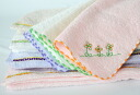 Flower story handkerchief towel