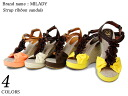 spr10P05Apr13 flower T strap Sandals all 4 colors women's