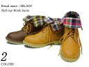 2-WAY roll top work boots 2 colors women's SS10P03mar13.