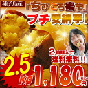 A deep-discount astonishment price! ★1 kg of ⇒ 472 yen! Large popular petit Anno potato (the purchase for a lot of 2.5 kg of ★ price collapse with the potato of the sweet potato )♪ A rank for challenge ★ sweetness condensation petit Anno potato ★◎ two from Tanegashima)♪