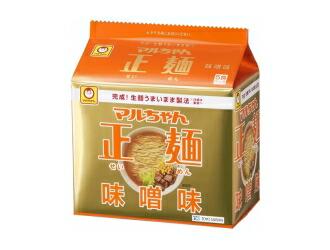 マルちゃん正麺味噌味1箱5食パック