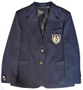 KURI-ORI ★ cliorehai grade! Authentic uniform specifications and for women's jacket Blazer Navy Blue L, LL 1 point