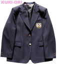 KURI-ORI girls Jacket dark blue ,size BEL(wide EL)