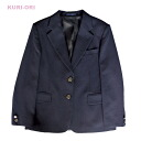 KURI-ORI ★ cris oly large size women's jacket Blazer KRJK Navy emblem without solid type