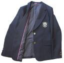 KURI-ORI ★ cris oly women's uniform jacket KRJKGT2 Blazer Navy, slim type