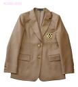 KURI-ORI ★ women's school uniform jacket KRJKGT4 Blazers camel