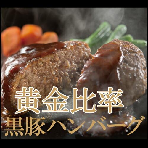 鹿児島黒豚ハンバーグ
