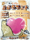 Cat sand プラスラブ your boobs nice toilet okara sandbox (flushable cat sand) 6 L