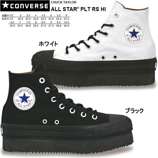 Converse All Black with White Bottom
