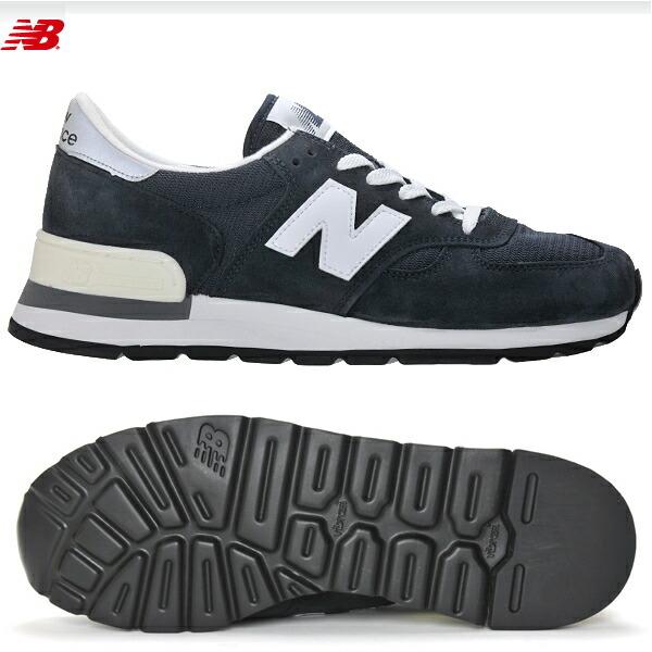 ニューバランス990NewBalanceM990[N]ネイビースニーカーメンズ靴メンズ靴スニーカー正規品【送料