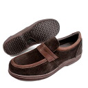 """Remaining 25.0cm/26.0cm each one foot only-DUNLOP DX-4180 slip-on casual shoes"