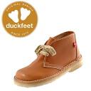 326 ダンスクダックフィートブーツ DANSKE duckfeet ○ DANSKE duckfeet ダンスクダックフィート crepe sole real leather, Lady's men desert boots [brown] レデイース ladies boots
