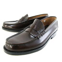 ★ ★ □ HARUTA 906 men and leather dark brown loafers-3E