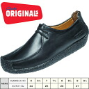 □ 280C Clarks ORIGINALS NATALIE mens black leather