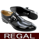 □ REGAL813R AL monk strap shoes for men business shoes