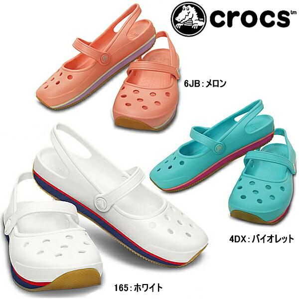 Retro Mary Jane Crocs Women
