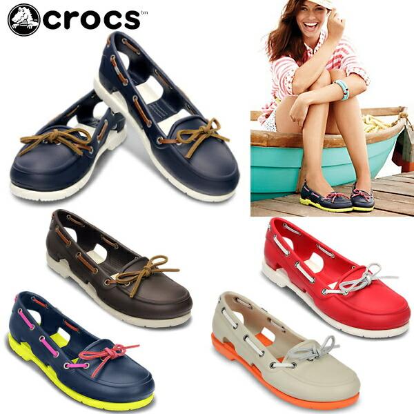 Crocs Beach Line Boat Shoe for Women